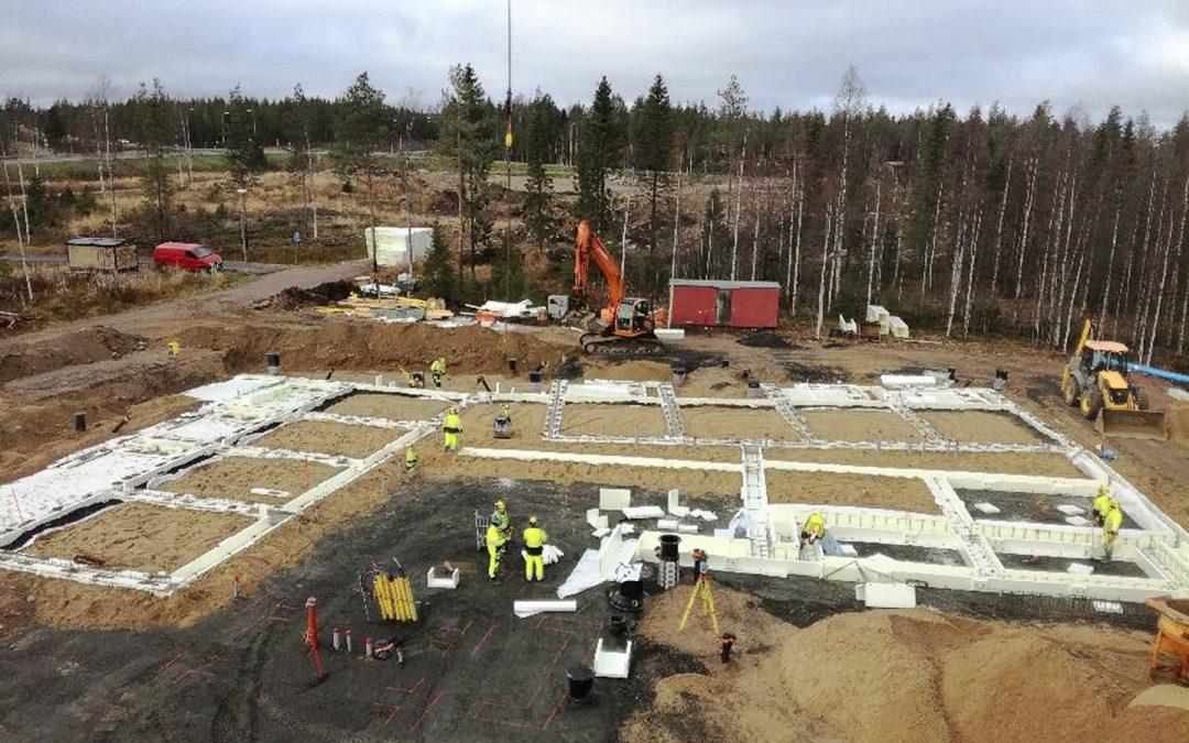 Tehostetun palveluasumisyksikön rakennustyöt alkaneet