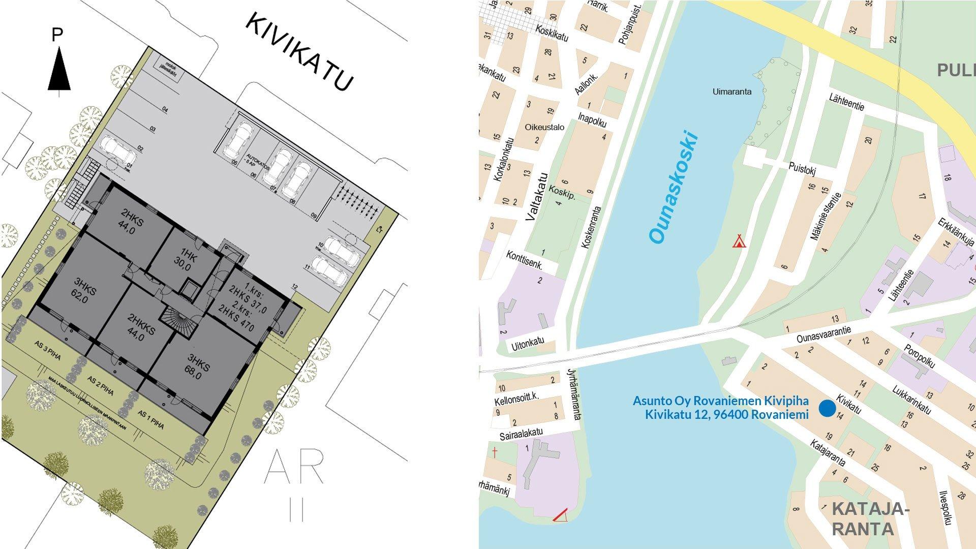 Asunto Oy Rovaniemen Kivipiha Valmistui Rovalappi