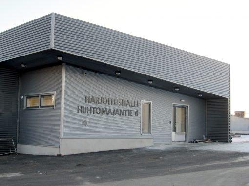 Lappi Areena harjoitushalli 2014