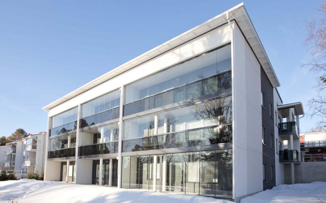 Asunto Oy Rovaniemen Kivipiha valmistui